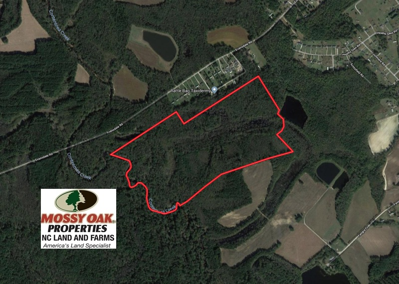 SOLD!  115 Acres of Hunting Land For Sale in Wilson County NC!