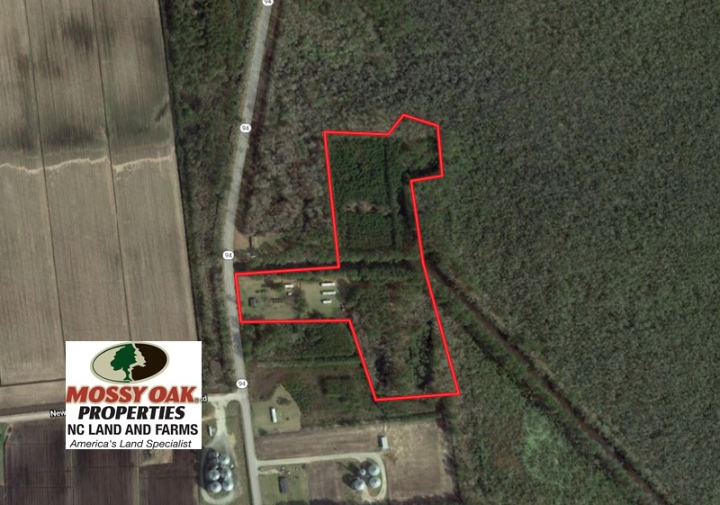 SOLD!  14.24 Acres of Creek Front Residential Land For Sale in Tyrrell County NC!