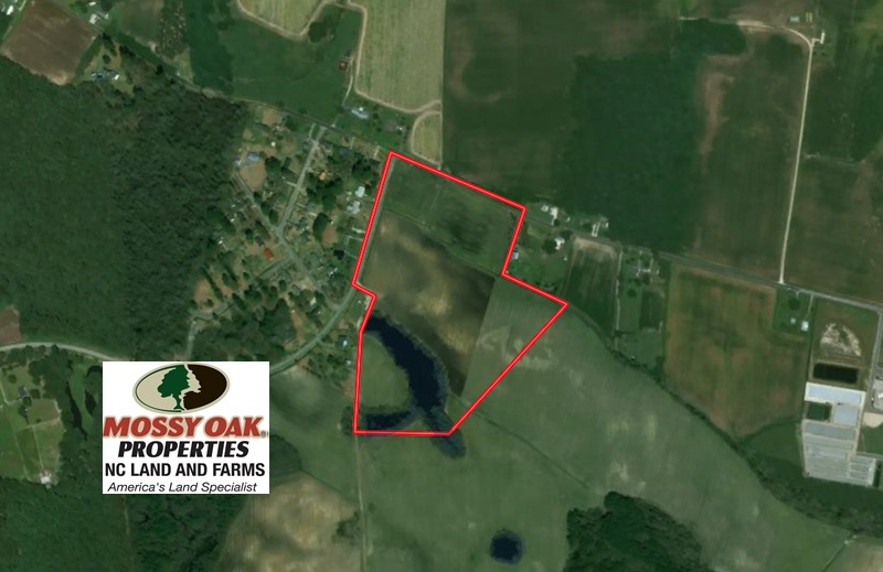 SOLD!  30 Acre Farm with Pond For Sale in Onslow County NC