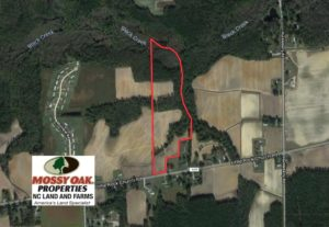 SOLD!  22.63 Acres of Farm and Hunting Land For Sale in Wilson County NC!