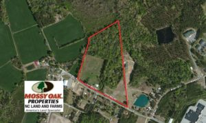 SOLD!  20.46 Acres of Pasture and Timber Land For Sale in Columbus County NC!
