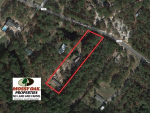 SOLD!  1.38 Acres of Residential Land with Mobile Homes For Sale in Pender County NC!