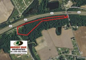 SOLD!  13 Acres of Rural Residential Land For Sale in Pitt County NC!