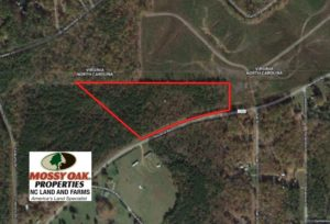 SOLD!  11.63 Acres of Recreational Land For Sale in Warren County NC!