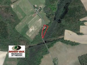 SOLD!  1.92 Acres of Rural Residential Land with Cottage Home For Sale in Suffolk VA!