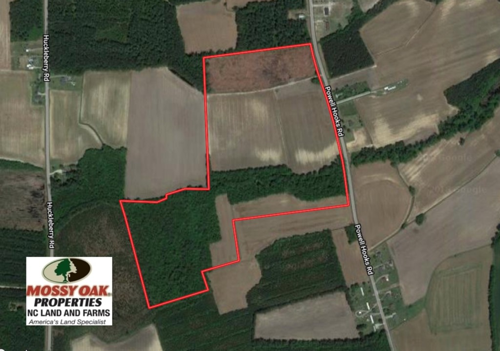 SOLD!  61.43 Acres of Farm and Timber Land For Sale in Wilson County NC!