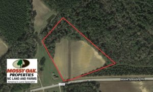 SOLD!  10 Acres of Farm and Residential Land For Sale in Columbus County NC!