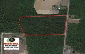 SOLD!  14.72 Acres of Recreational and Residential Land For Sale in Johnston County NC!