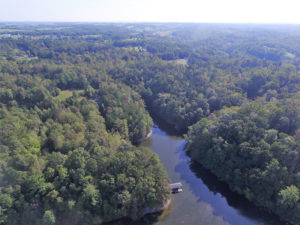 UNDER CONTRACT!  5 Acres of Residential Waterfront Land For Sale in Bedford County VA!