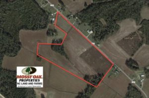 SOLD!  33 Acres of Farm and Pasture Land For Sale in Robeson County NC!