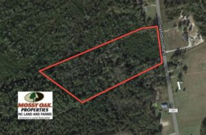 SOLD!  10 Acres of Hunting and Timber Land For Sale in Columbus County NC!