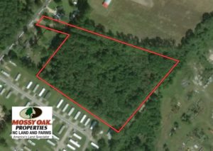 UNDER CONTRACT!  8 Acres of Hunting Land For Sale in Robeson County NC!