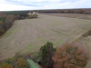 UNDER CONTRACT!  112 Acres of Hunting Land For Sale in King and Queen County VA!