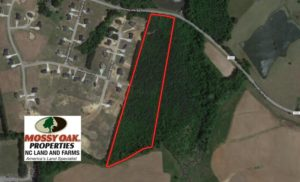 REDUCED!  12.52 Acres of Recreational Hunting Land For Sale in Nash County NC!
