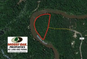 SOLD!  9.9 Acres of River Front Hunting Land For Sale in Wayne County NC!
