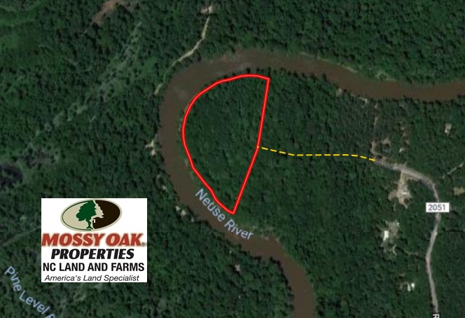 9.9 Acres of River Front Hunting Land For Sale in Wayne County NC!