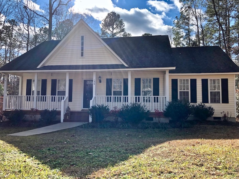 SOLD!  0.34 Acre Lot with 1213 Square Foot Home in Franklin County NC!