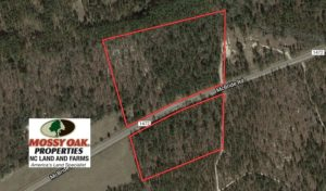 SOLD!  13.81 Acres of Timber, Residential and Recreational Land For Sale in Richmond County NC!