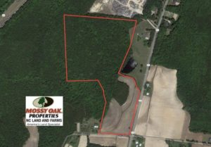 SOLD!  46.3 Acres of Farm and Timber Land For Sale in Nash County NC!