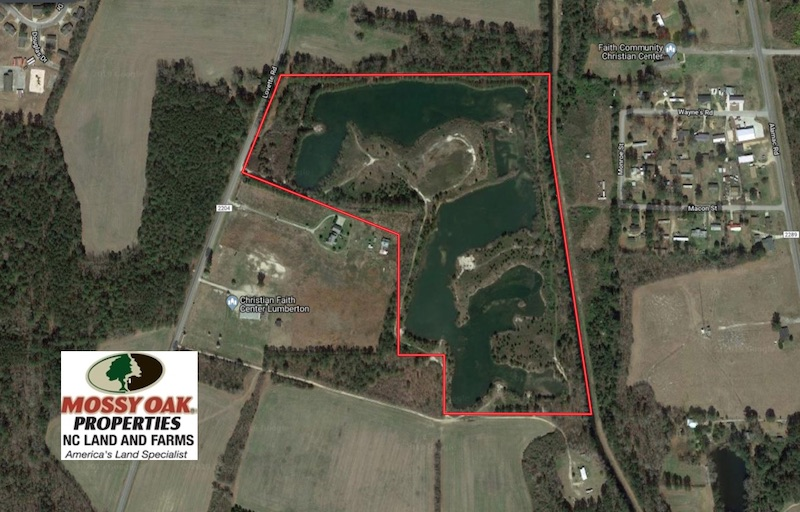 UNDER CONTRACT!  46 Acres of Recreational Land For Sale in Robeson County NC!