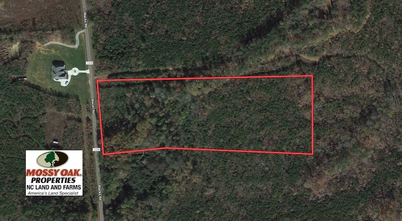 SOLD!  10.03 Acres of Hunting and Timberland For Sale in Warren County NC!