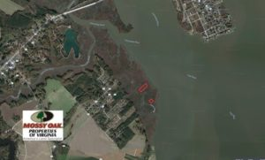 SOLD!  1.6 Acres of Duck Hunting Land For Sale in New Kent County VA!