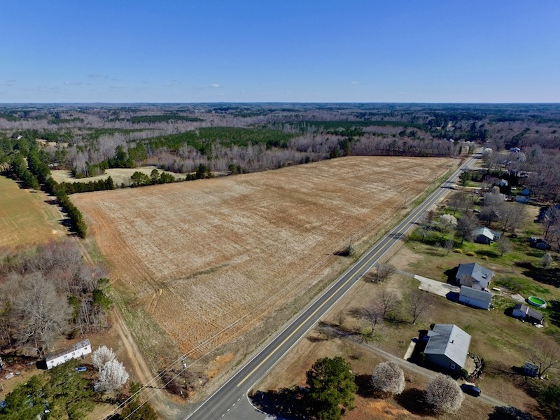UNDER CONTRACT!  280 Acres of Developable Farm and Timber Land For Sale in Granville County NC!