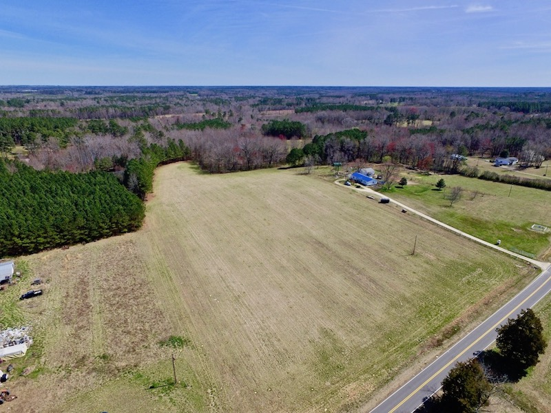 UNDER CONTRACT!  44 Acres of Farm and Timber Land For Sale in Franklin County NC!