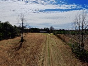 UNDER CONTRACT!  10 Acres of Hunting Land with House For Sale in Granville County NC!