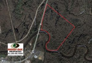 UNDER CONTRACT!  43.66 Acres of Creekfront Hunting Land For Sale in Greene County NC!