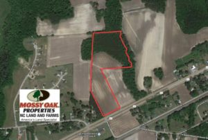 SOLD!  16.44 Acres of Investment Land For Sale in Wilson County NC!