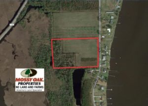 UNDER CONTRACT!  11 Acre Mini Farm with Sound View For Sale in Currituck County NC!