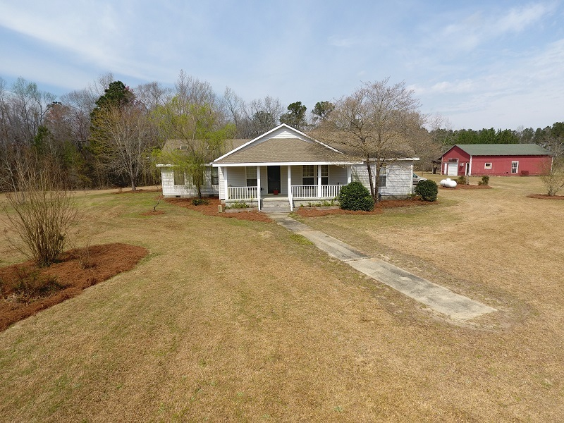 UNDER CONTRACT!  19.49 Acres of Residential Farm Land with House For Sale in Bladen County NC!