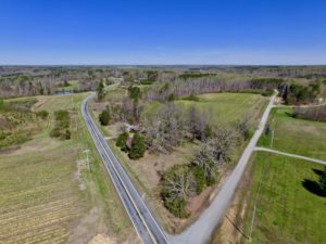 UNDER CONTRACT!  17.85 Acre Home Site For Sale in Caswell County NC!