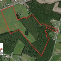 57 Acres of Recreational Land with Cabin For Sale in Pittsylvania County VA!