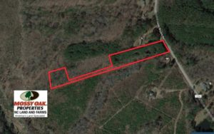 SOLD!  5 Acres of Residential and Recreational Land For Sale in Chatham County NC!
