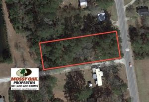 UNDER CONTRACT!  0.718 Acre Vacant Lot For Sale in Pamlico County NC!