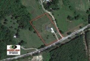 SOLD!  2 Acres of Residential Land with Home in Lunenburg County VA!