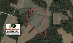 UNDER CONTRACT!  21 Acres of Farm and Hunting Land For Sale in Columbus County NC!