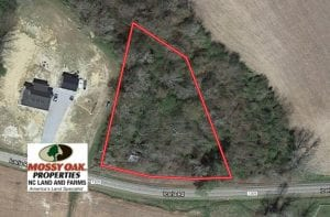 UNDER CONTRACT!  1 Acre Building Lot For Sale in Chowan County NC!