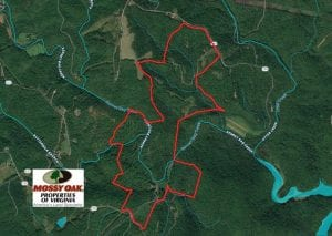 UNDER CONTRACT!!  373 Acres of Residential Hunting and Recreational Land For Sale in Franklin County VA!