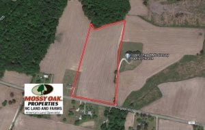 UNDER CONTRACT!  11.44 Acres of Farm and Investment Land For Sale in Johnston County NC!