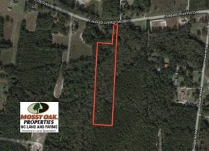 UNDER CONTRACT!  5 Acres of Residential and Hunting Land For Sale in Brunswick County NC!
