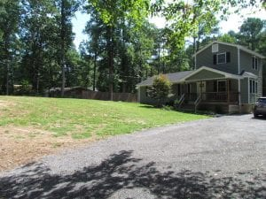 SOLD!! Residential Lot with Home on a Pond in Isle of Wight County VA!