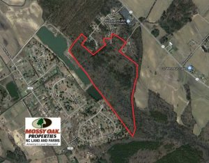 SOLD!!  69 Acres of Prime Development and Recreational Land in Pitt County NC!