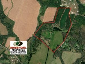 60 Acre Farm with Hunting Land For Sale in Person County NC!