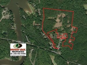 55 acres of Farm and Hunting Land for Sale in Person County, NC!