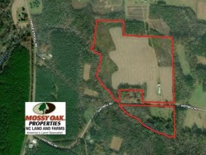46 Acres of Farm Land For Sale in Granville County NC!