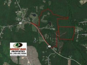 160 Acre Farm with Home Hunting and Investment Timber Land For Sale in Vance County NC!