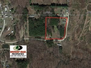4.22 Acres with Nice House For Sale in Caswell County NC!